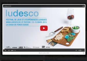 Vidéo Ludesco 2015